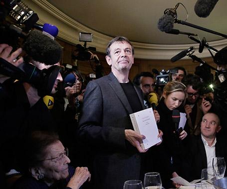 Pierre Lemaitre alla vittoria del Premio Goncourt 2013
