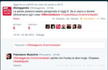 Il primo tweet del progetto lettura noprofit @Stoleggendo, firmato @FraRodella