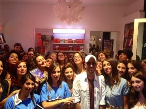 """Massimo Bisotti nella libreria """"La Gilda dei Narratori"""" di Messina"""