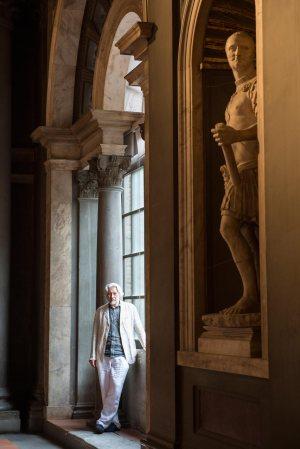 V. Sorokin a Palazzo Vecchio - Firenze
